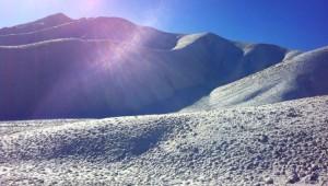 Reisebericht Neuseeland - Bergspitze