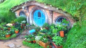 Reisebericht Neuseeland - Hobbithöhle