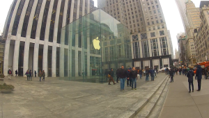 New York Reisebericht - Apple Store Fifth Avenue