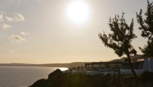 Reisebericht Robinson Club Daidalos Sonnenuntergang
