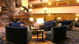 Busrundreise USA Westen - Holiday Inn Great Falls Lobby