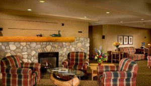 Busrundreise USA Westen - Lobstick Lodge Lobby