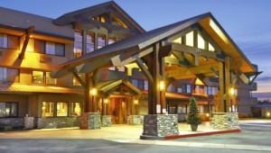 Busrundreise USA Westen - Red Lion Hotel Kalispell Hoteleingang