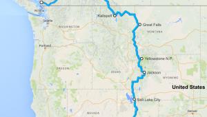 Rundreise USA Westen - Reiseverlauf