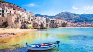 Sizilien Rundreise - Cefalu Hafen