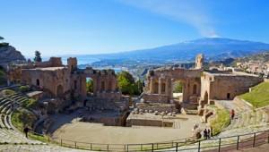 Sizilien Rundreise - Taormina Theater