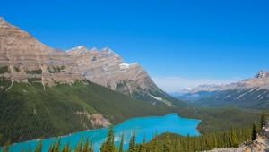 Busrundreise USA - Lake Louise Mountains - Banff Lake Louise Tourism - Paul Zizka