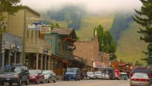 Busrundreise USA Westen - Jackson Downtown - Mark Gocke - Wyoming Office of Tourism