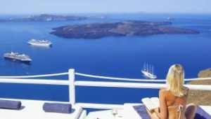 Inselhopping Griechenland - Hotel On The Rocks Ausblick