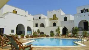 Inselhopping Griechenland - Hotel Spiros Pool