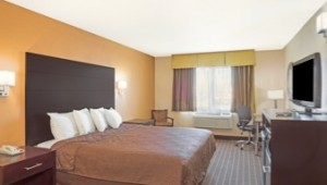 Busrundreise USA Westen - Howard Johnson Express Inn Doppelzimmer