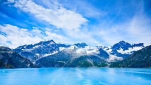 Yukon & Alaska Rundreise - Glacier Bay in Mountains