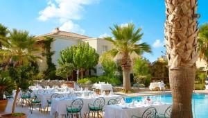GRECOTEL Marine Palace & Suites - Restaurantterasse