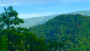 Costa Rica Reiseimpressionen - Berge