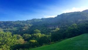 Costa Rica Reiseimpressionen - Berge und Hotel
