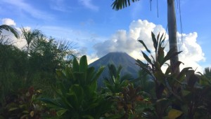 Costa Rica Reiseimpressionen - Vulkan Arenal
