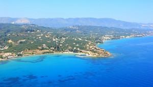 Griechenland Inselhüpfen Reise - Ausblick über Zakynthos