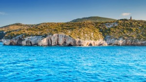 Griechenland Inselhüpfen Reise - Blaue Grotten