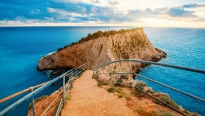Griechenland Inselhüpfen Reise - Porto Katsiki Lefkas
