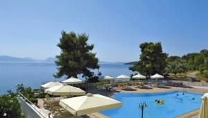 Griechenland Inselhüpfen Reise - Hotel Porto Galini Nikiana - Pool