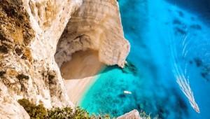 Griechenland Inselhüpfen Reise - Klippen von Zakynthos