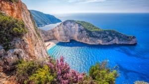 Griechenland Inselhüpfen Reise - Navagio Bay