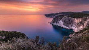 Griechenland Inselhüpfen Reise - Zakynthos Bucht Aussicht