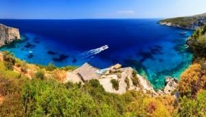 Griechenland Inselhüpfen Reise - Zakynthos Insel Bucht