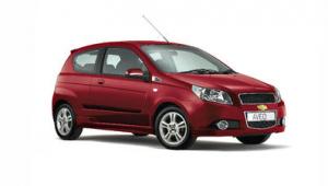 Chevrolet Aveo o.ä.gegen Aufpreis von € 275,- je Reise/WagenMietwagenkategorie Economy